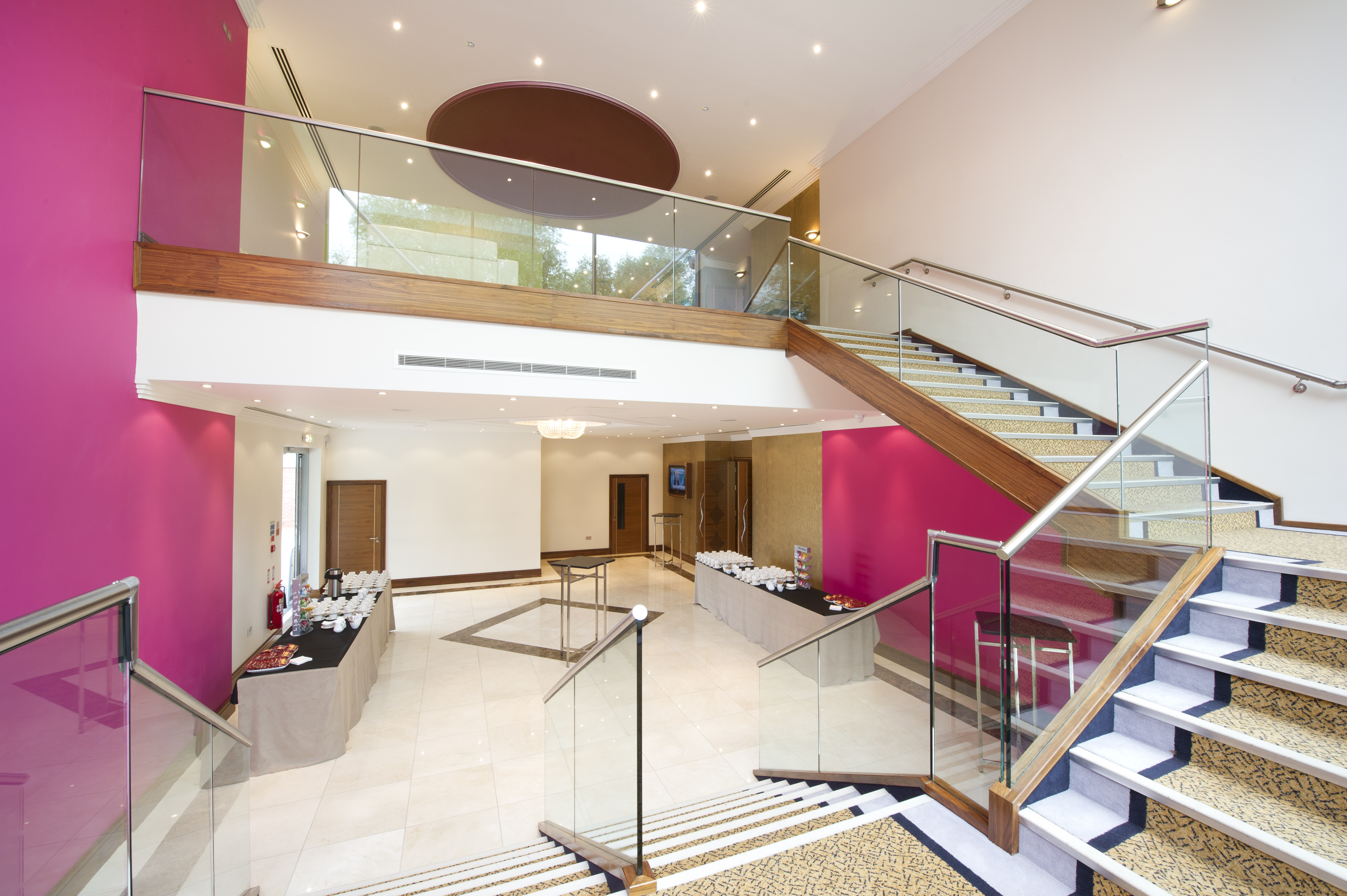 Royal Gallery stairs and foyer