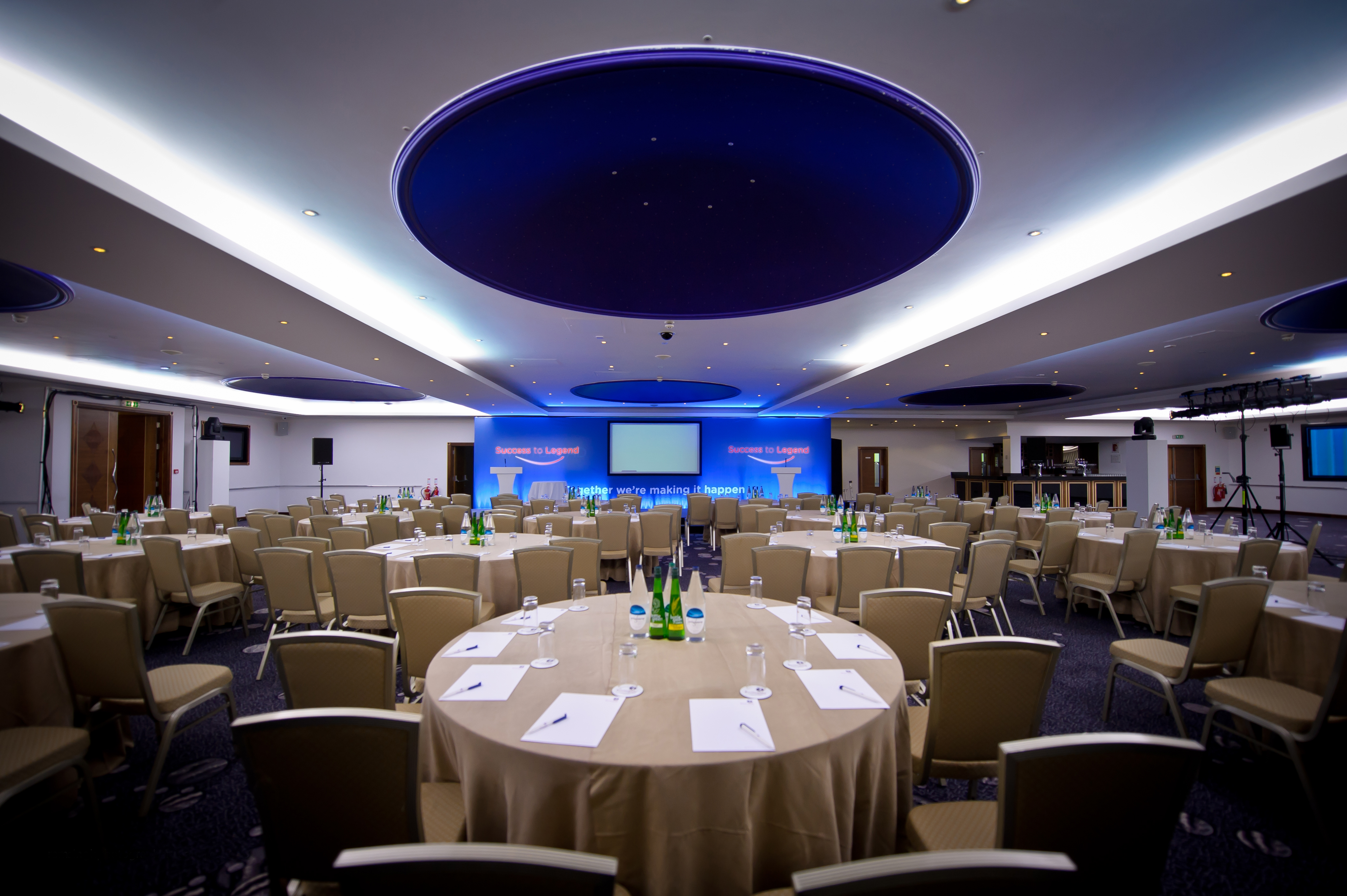 Whitbread Conference set up